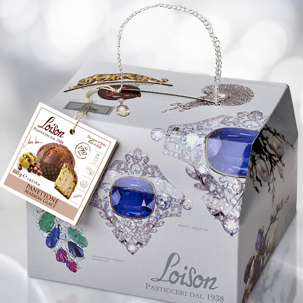 loison packaging bauletto natale panetton agenzia Studio Bluart, graphic design, castelfranco veneto