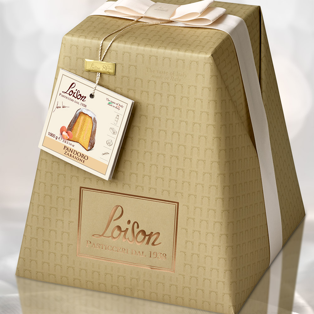 loison pasticceri packaging pandoro natale packaging agenzia Studio Bluart, graphic design, castelfranco veneto