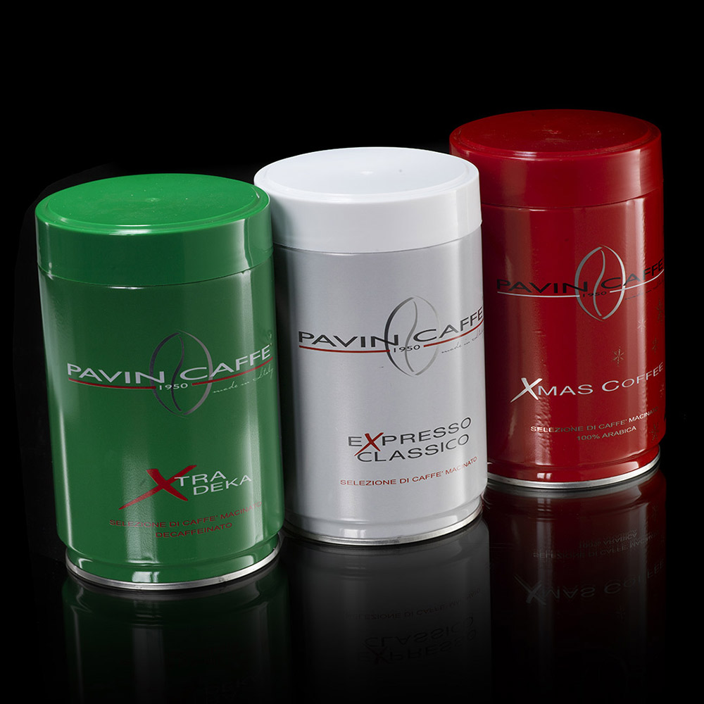 pavin caffe lattine coffee tricolore packaging agenzia Studio Bluart, graphic design, castelfranco veneto