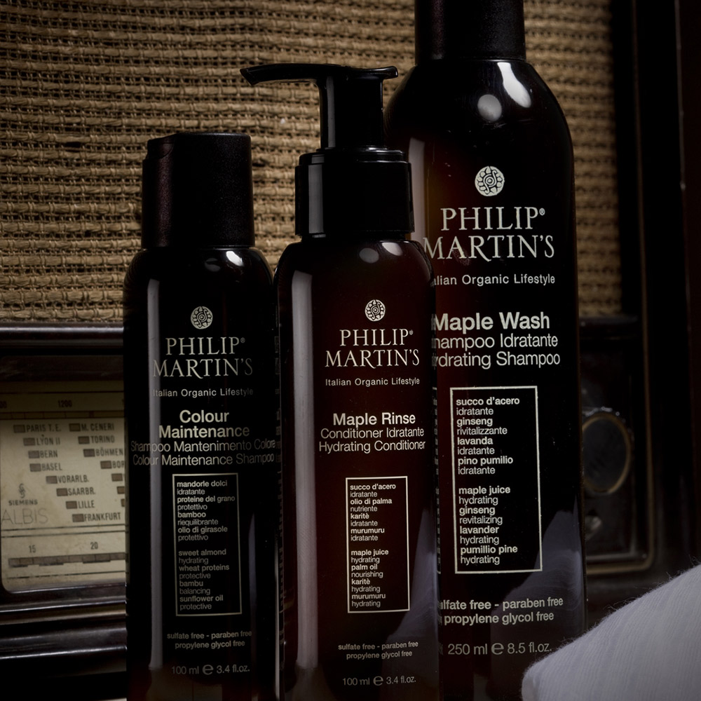 philipmartins packaging shampoo hair agenzia Studio Bluart, graphic design, castelfranco veneto