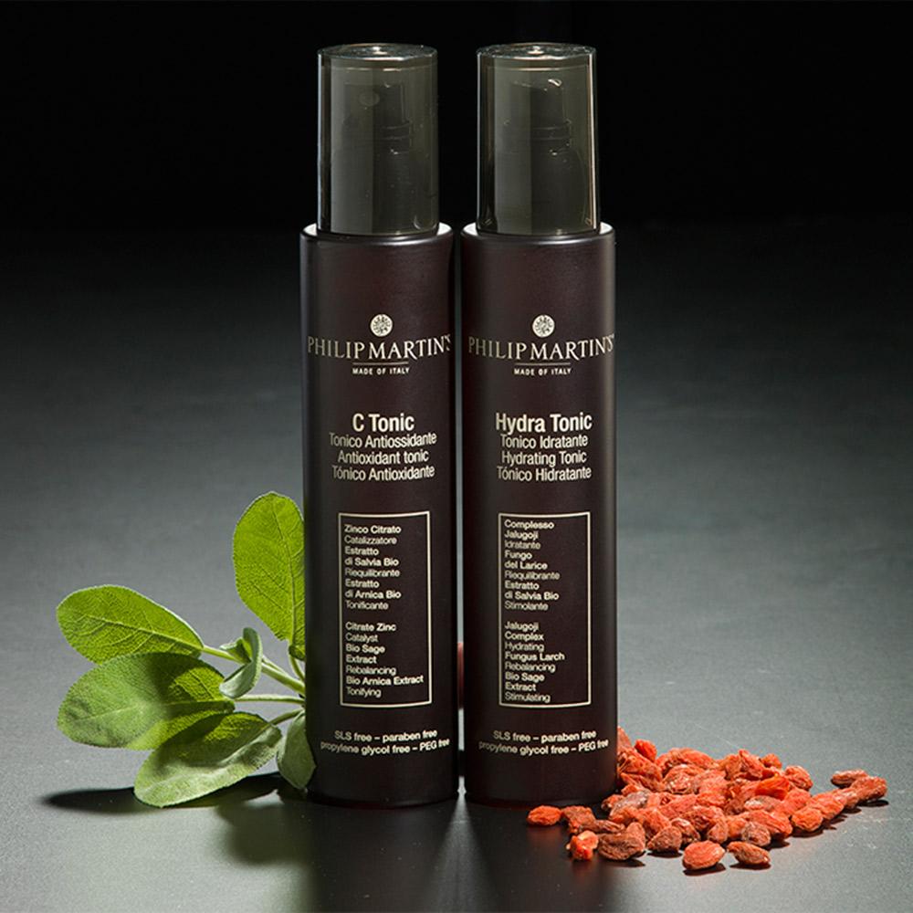philip martins skin care packaging agenzia Studio Bluart, graphic design, castelfranco veneto