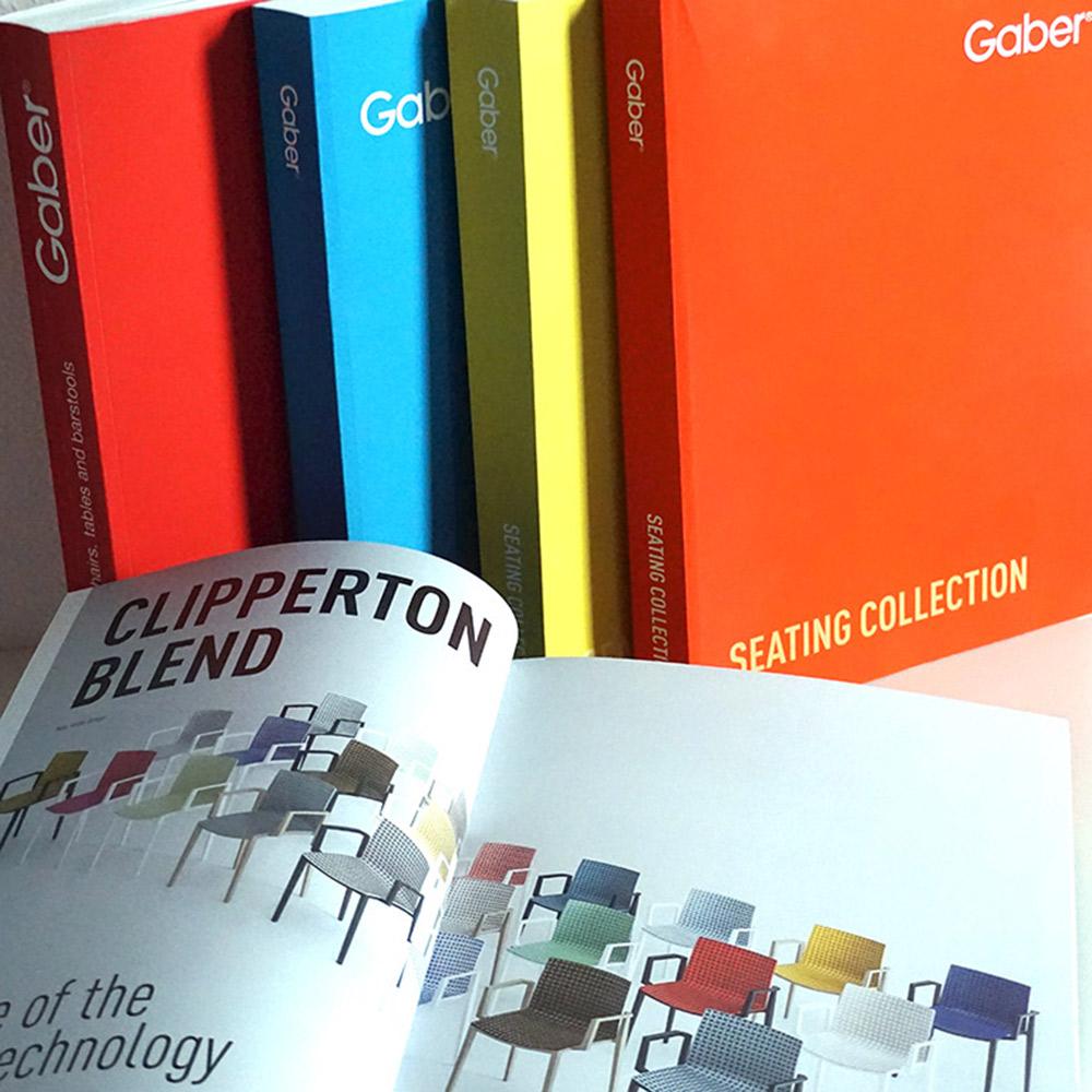 gaber sedie sgabelli catalogo prodotti agenzia Studio Bluart, graphic design, castelfranco veneto