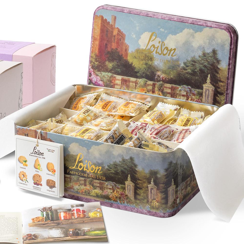 loison latta degustazione biscotti misti packaging agenzia Studio Bluart, graphic design, castelfranco veneto