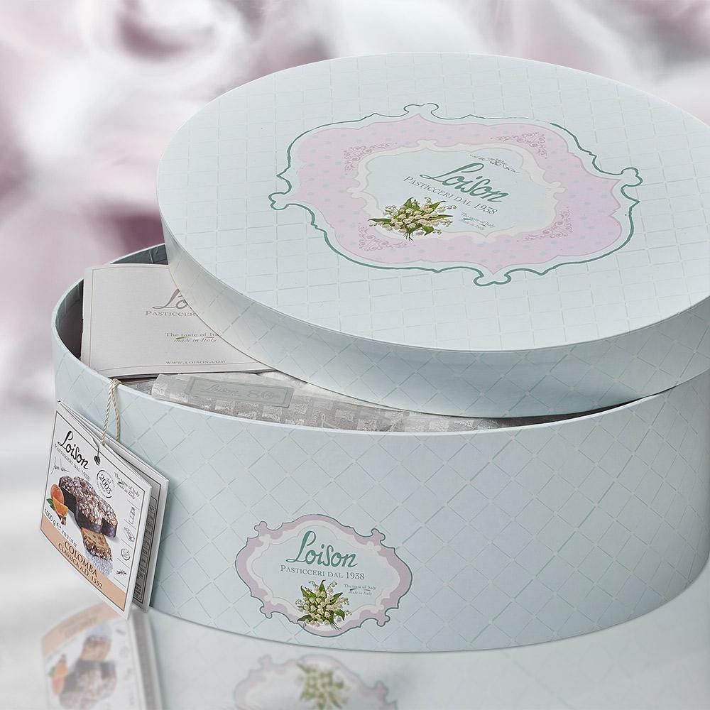 loison packaging colomba pasqua cappelliera agenzia Studio Bluart, graphic design, castelfranco veneto