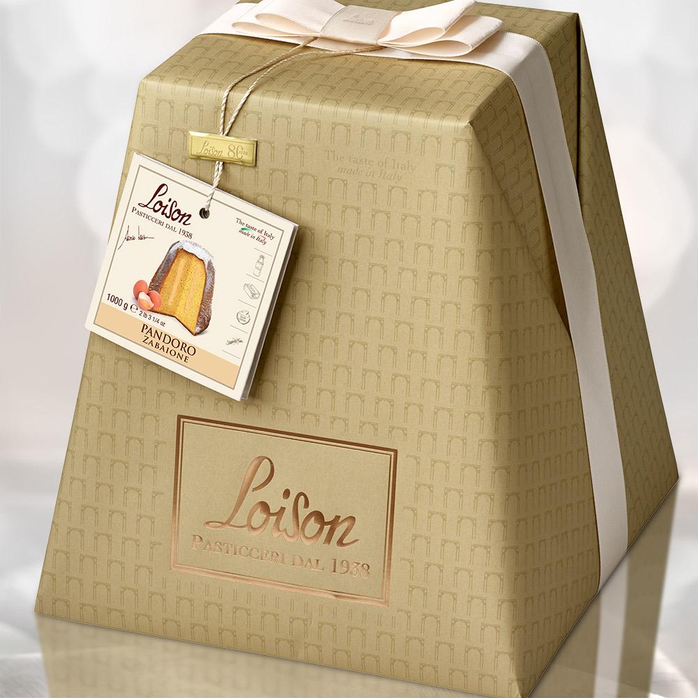 loison pasticceri packaging pandoro natale packaging agenzia Studio Bluart, graphic design, castelfranco veneto