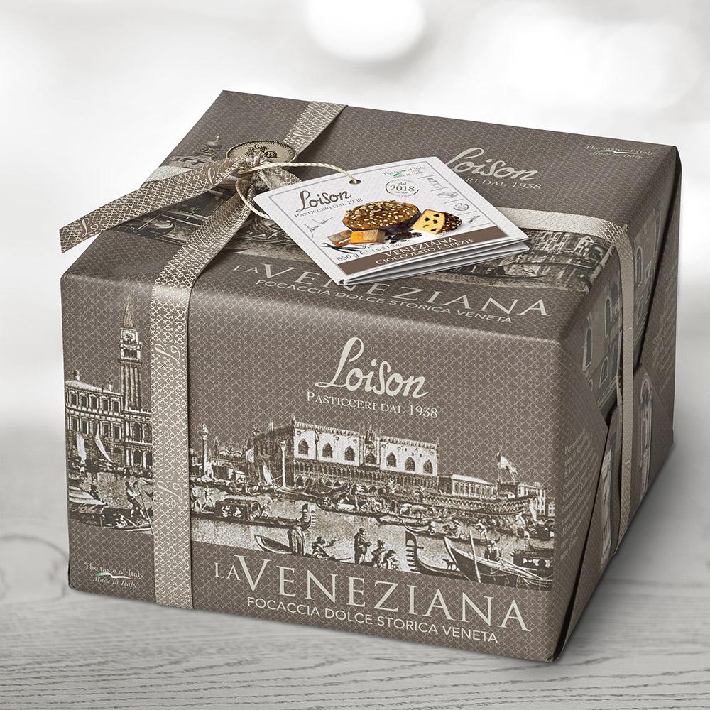 loison collezione packaging veneziana natale agenzia Studio Bluart, graphic design, castelfranco veneto