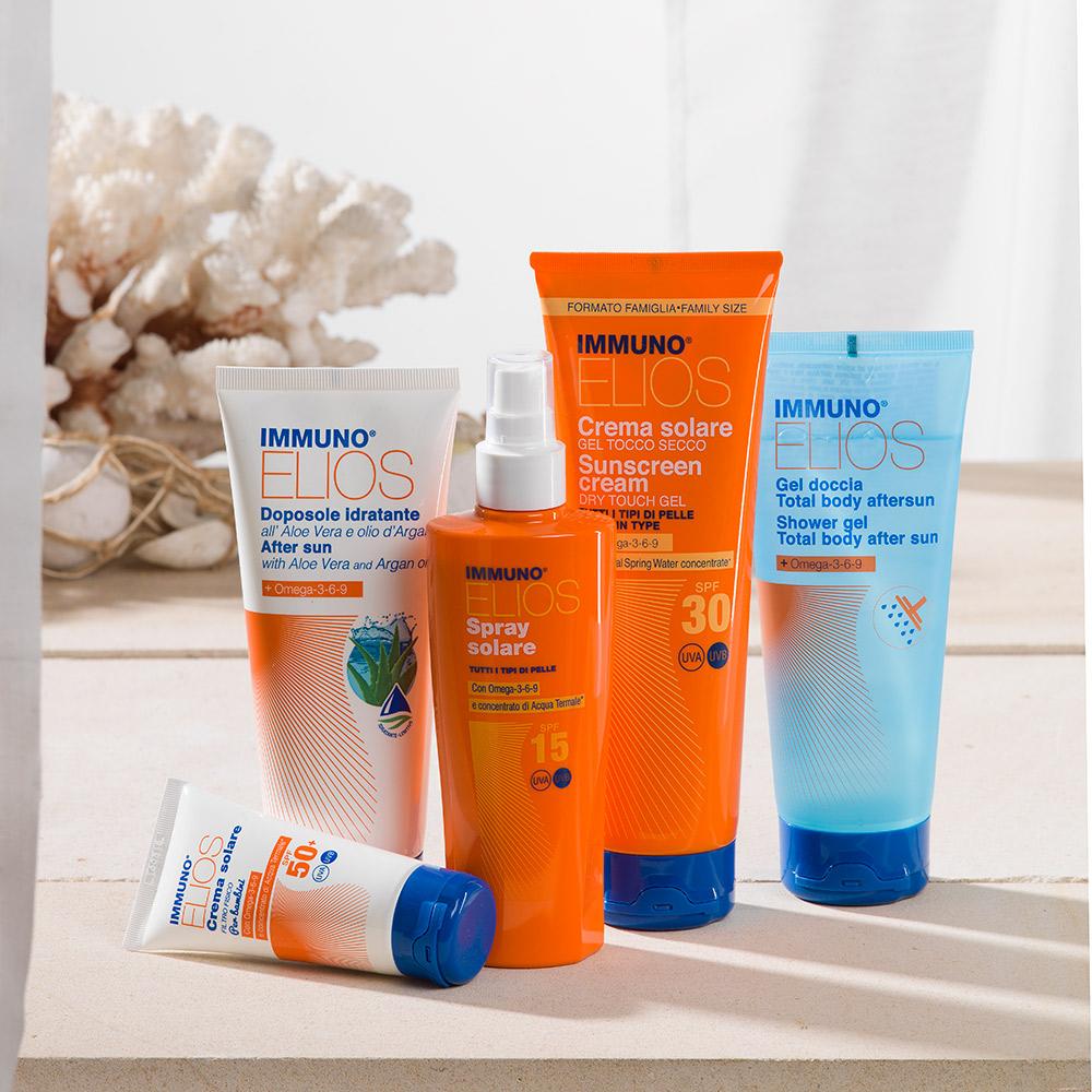 morganpharma packaging solari sun skin agenzia Studio Bluart, graphic design, castelfranco veneto