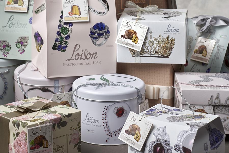 packaging Dolciaria Loison studiobluart castelfranco veneto